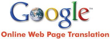 Google web page translation